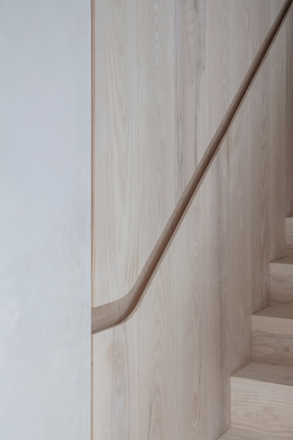 Angel house architect designed staircase