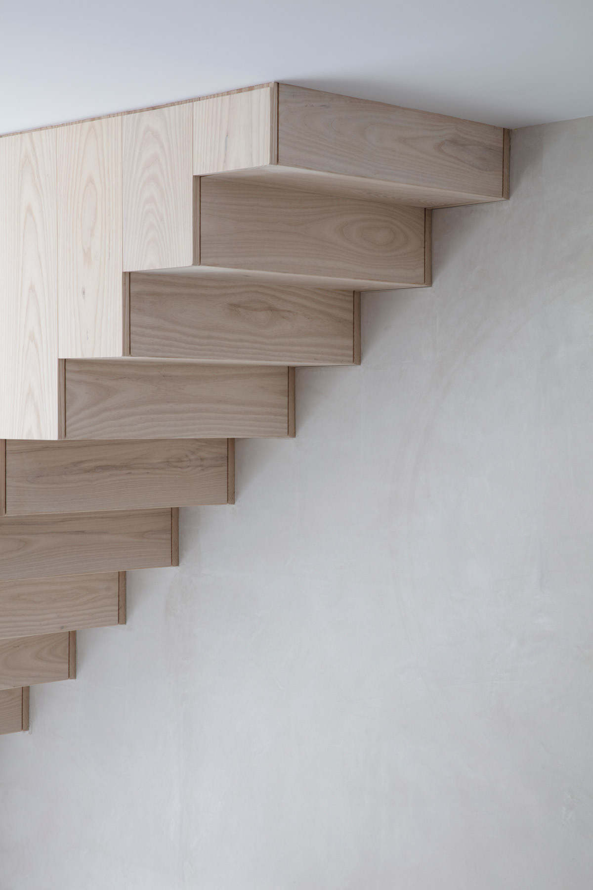 Angel house bespoke timber stair