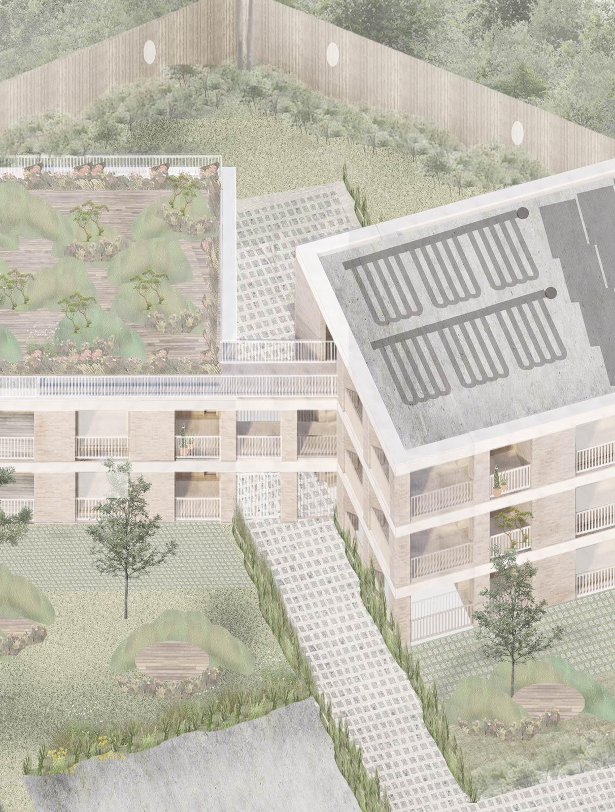 Hounslow housing design axo