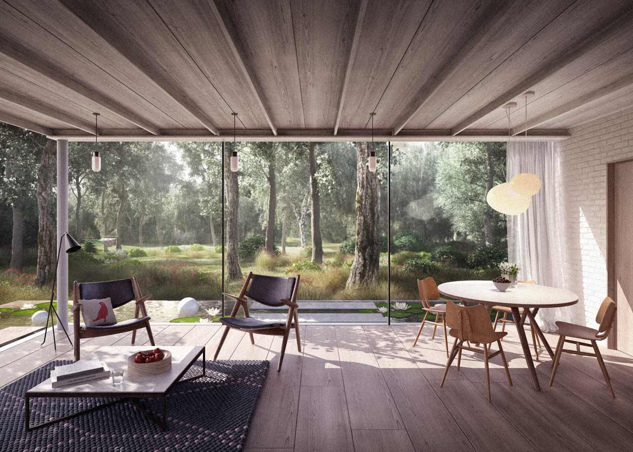 New build architect designed essex house: finding land
