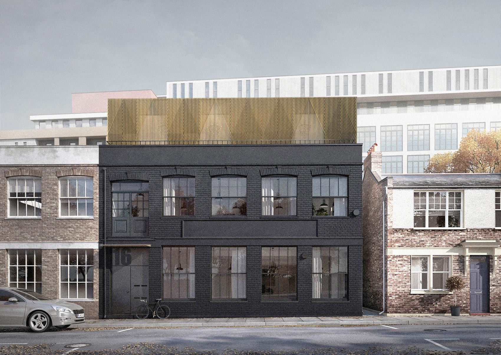 Hackney Housing: warehouse extension by architecture for london
