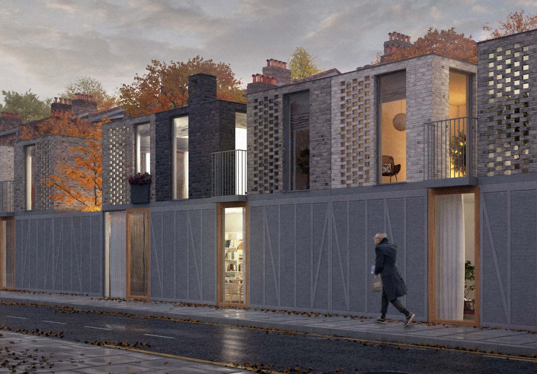 Architect designed Hackney terrace in east London