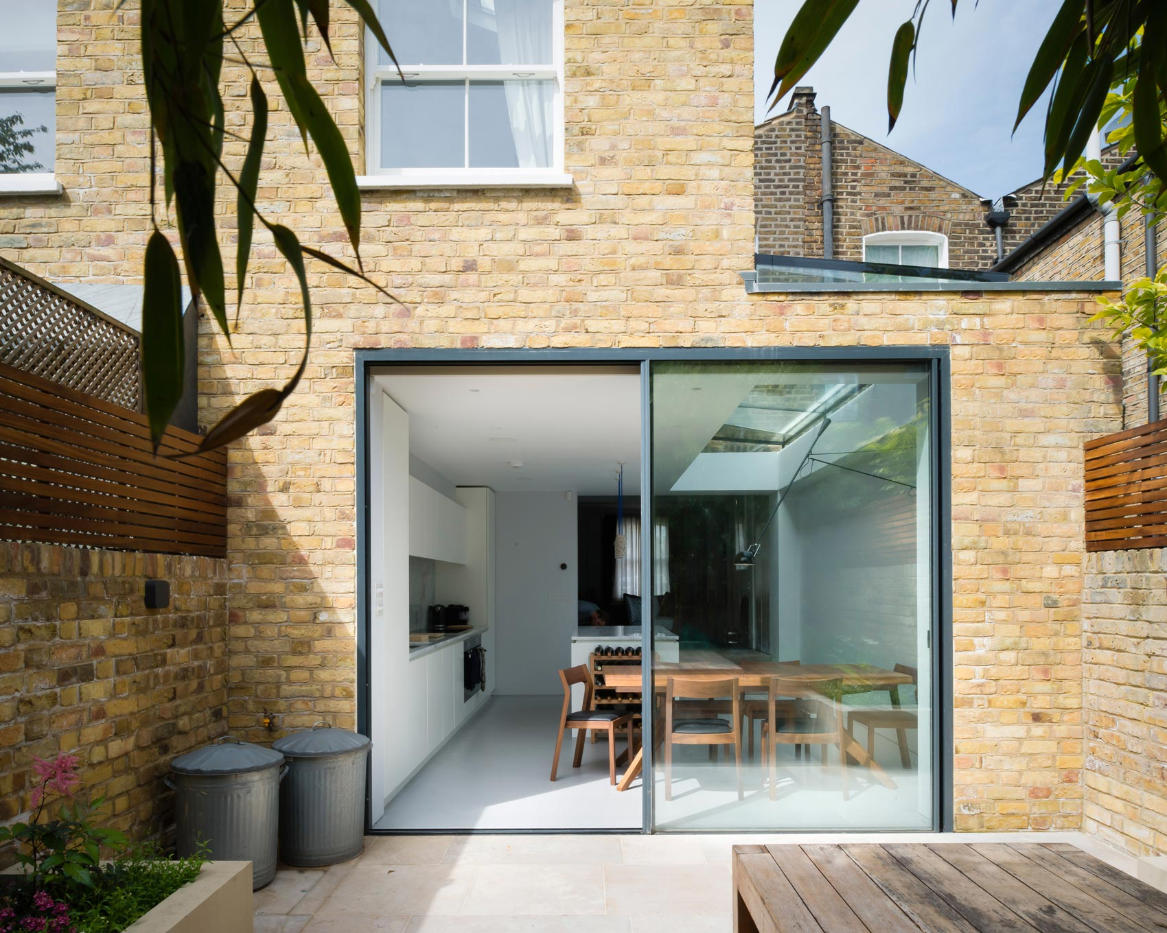 brick architect house extension