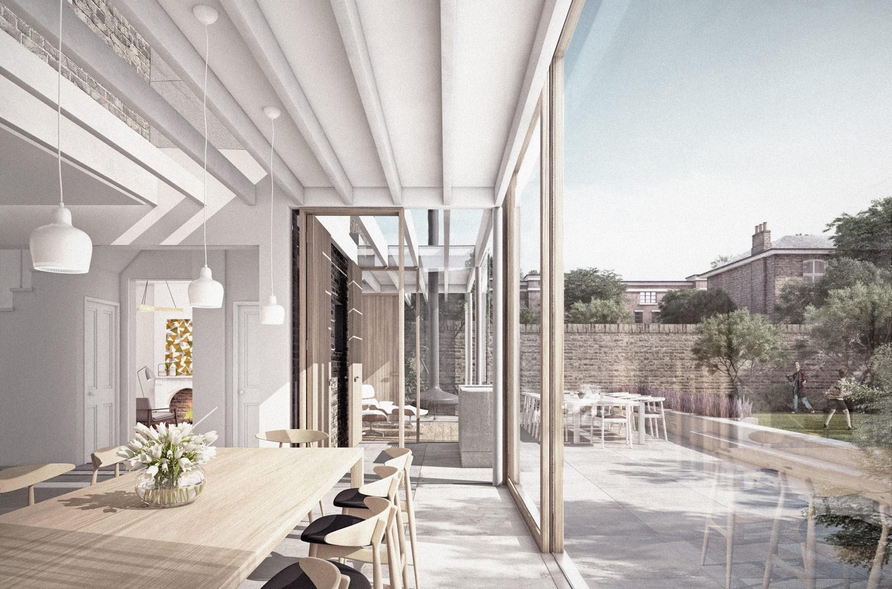 Camden architects: Dartmouth Park house extension