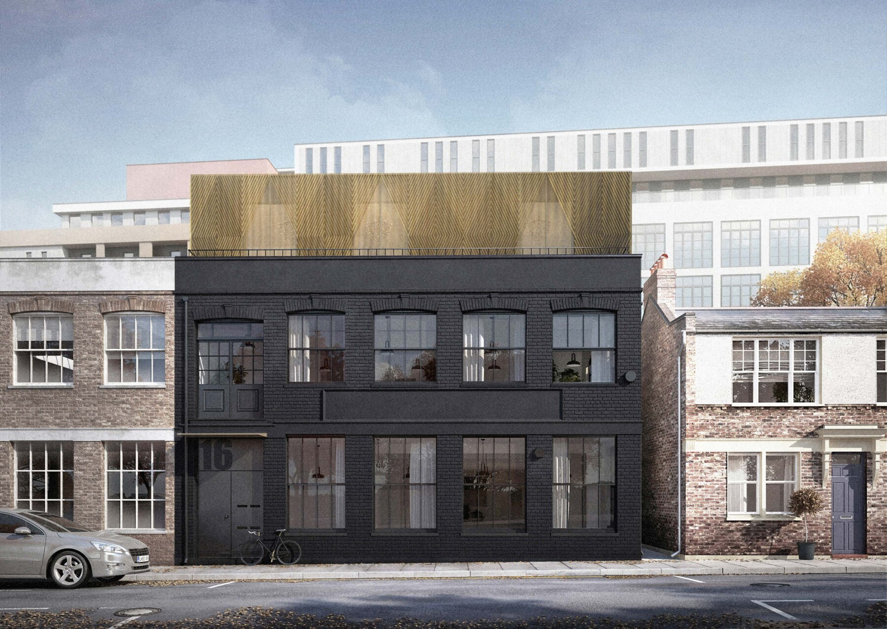 Hackney Housing: warehouse extension, planning use classes