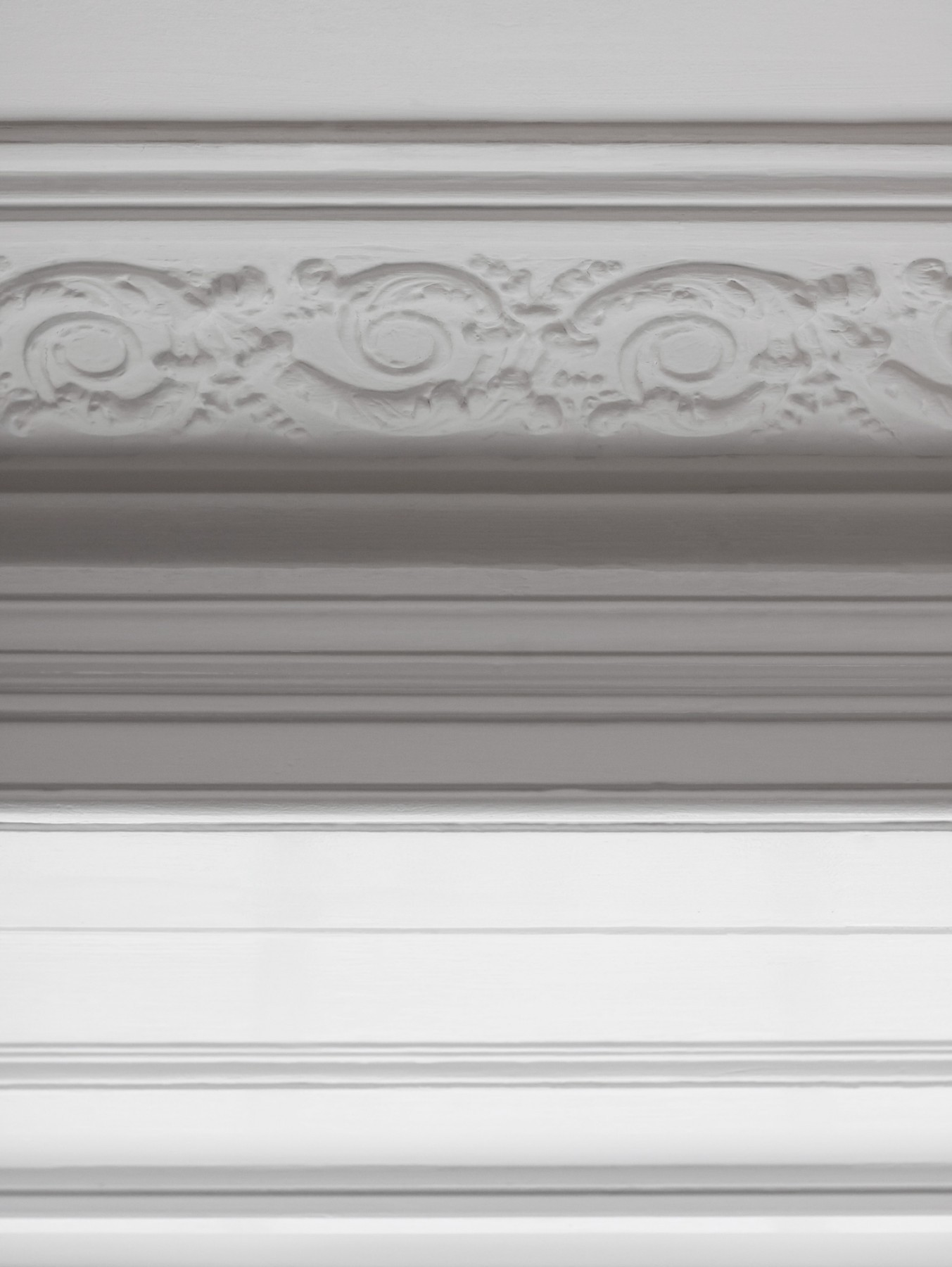 Fitzrovia house extension: Georgian house cornice