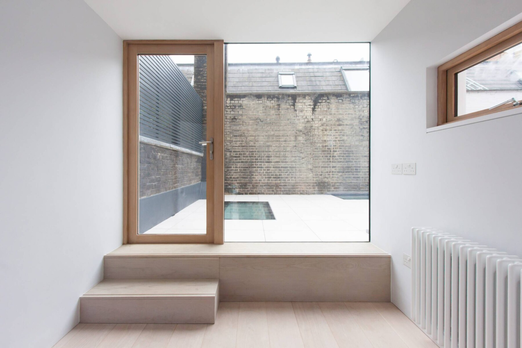 Georgian fitzrovia house extension - Camden architects