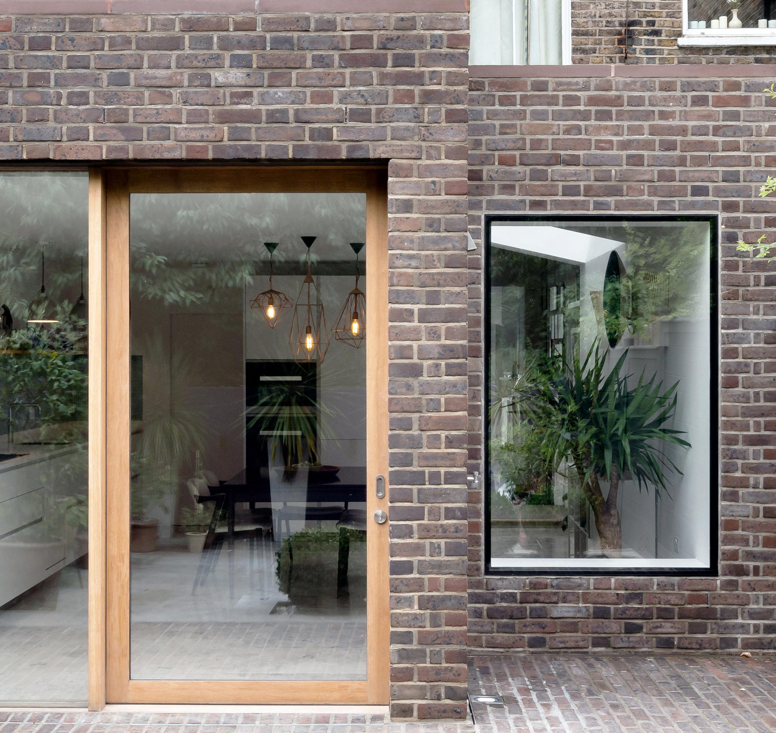 Kensington house extension in a conservation area