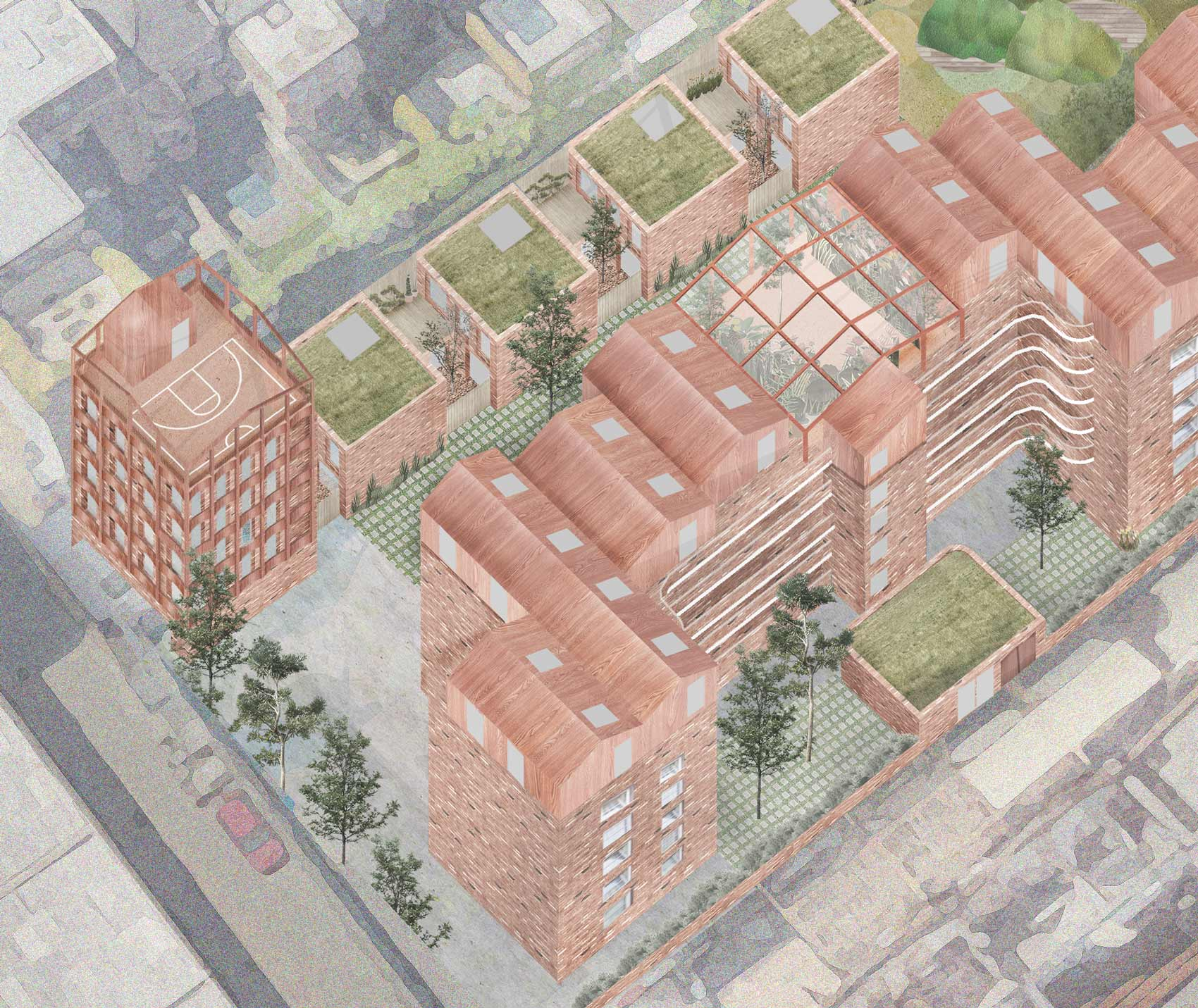 London estate regeneration architect