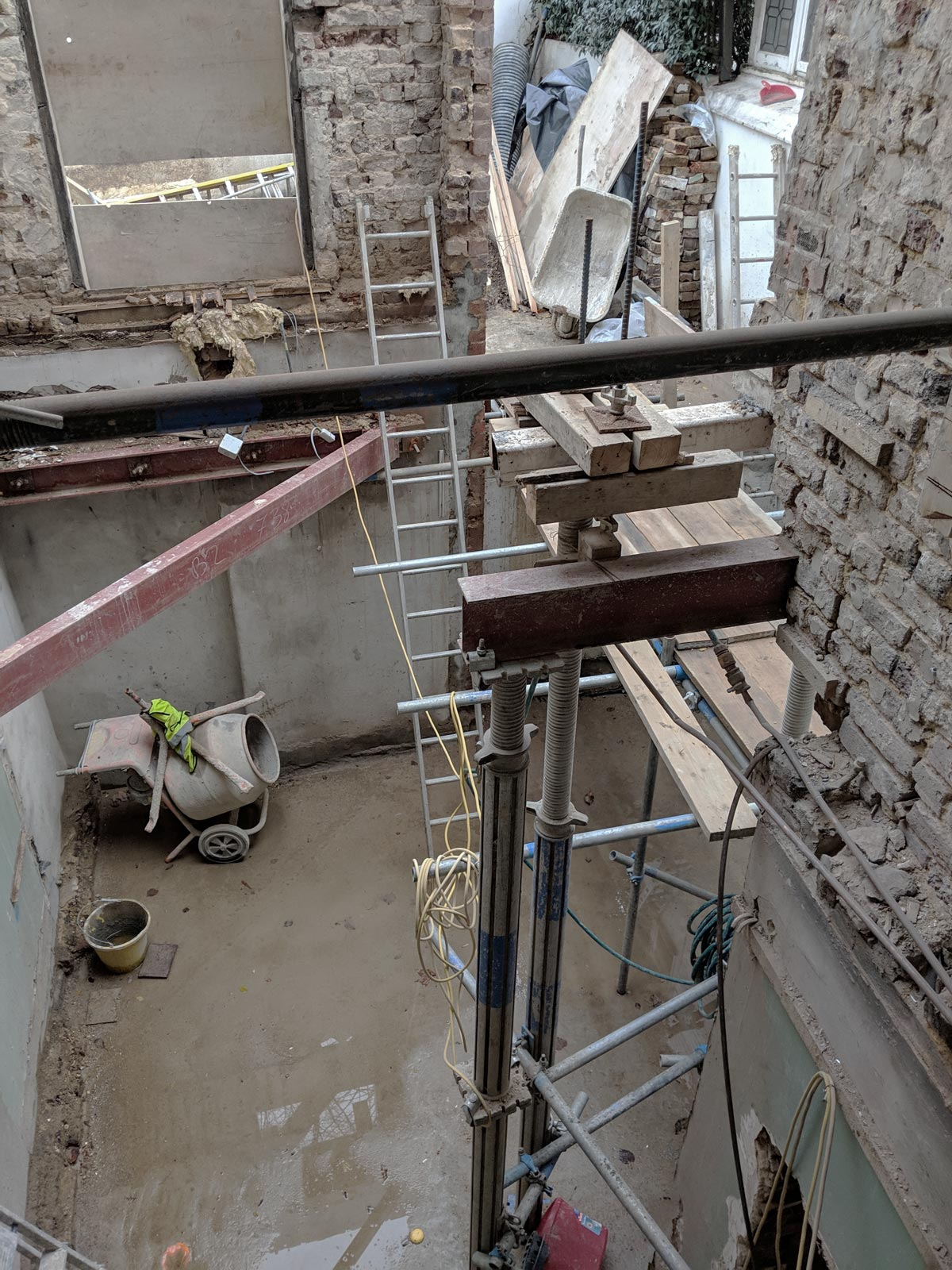 Westminster architect house extension construction