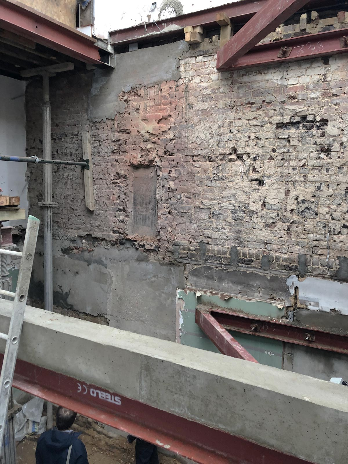 Westminster architect listed building extension construction