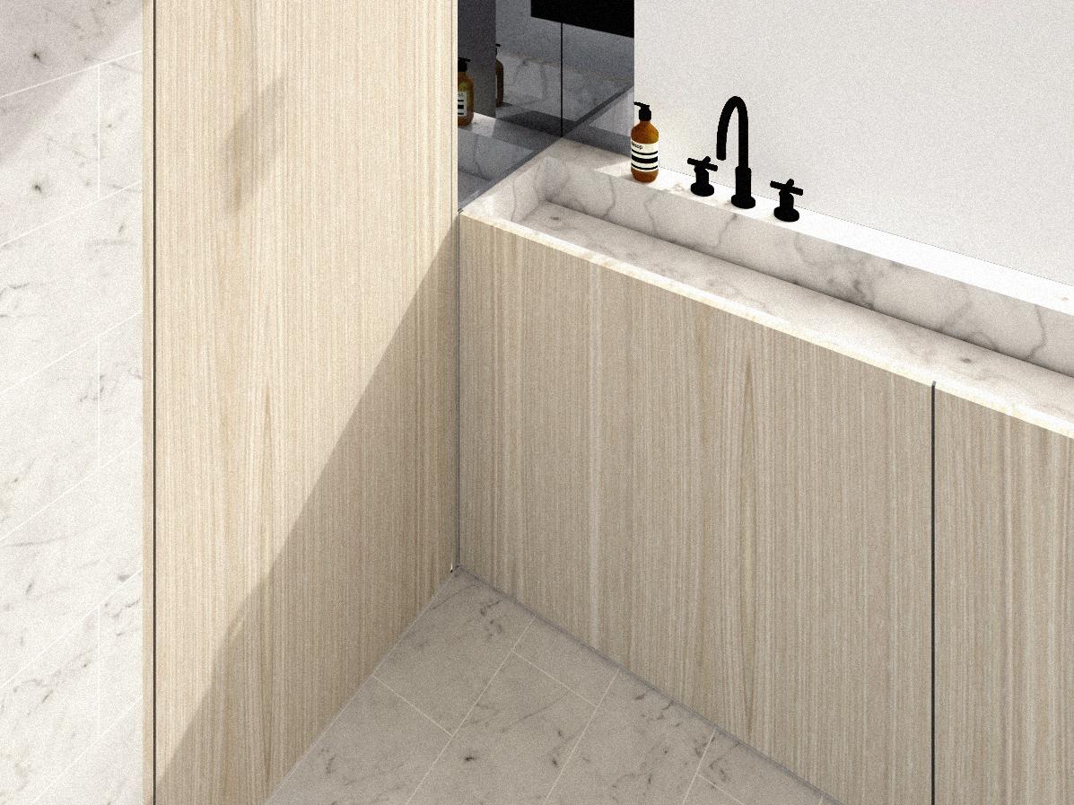 Dartmouth Park house extension: Architect designed Bathroom