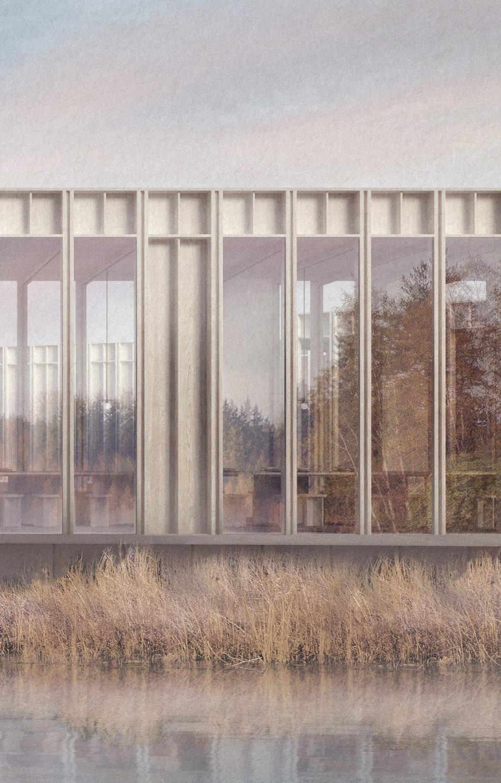 Kent architect wildlife centre detail