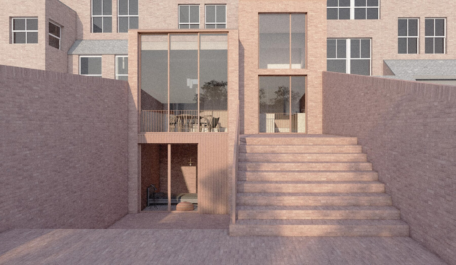 Highgate house extension and basement in north London N6