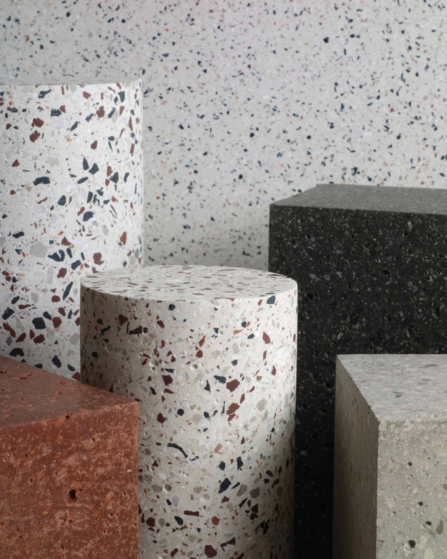 terrazzo table colours design