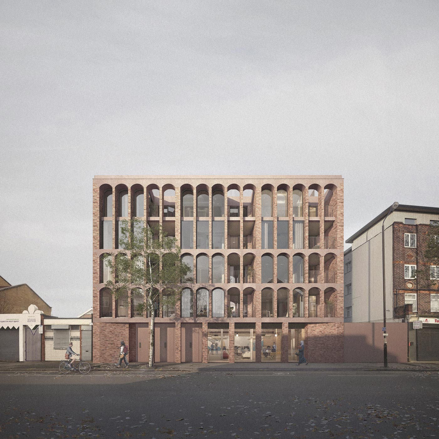 Architect designed Walthamstow Housing, Architecture for London