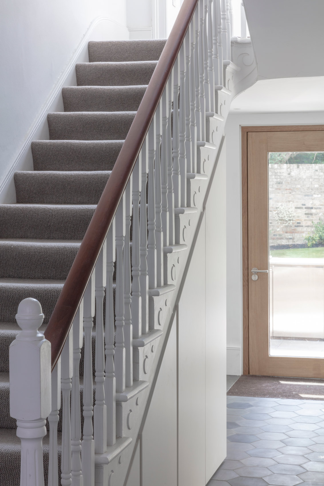victorian house extension staircase design