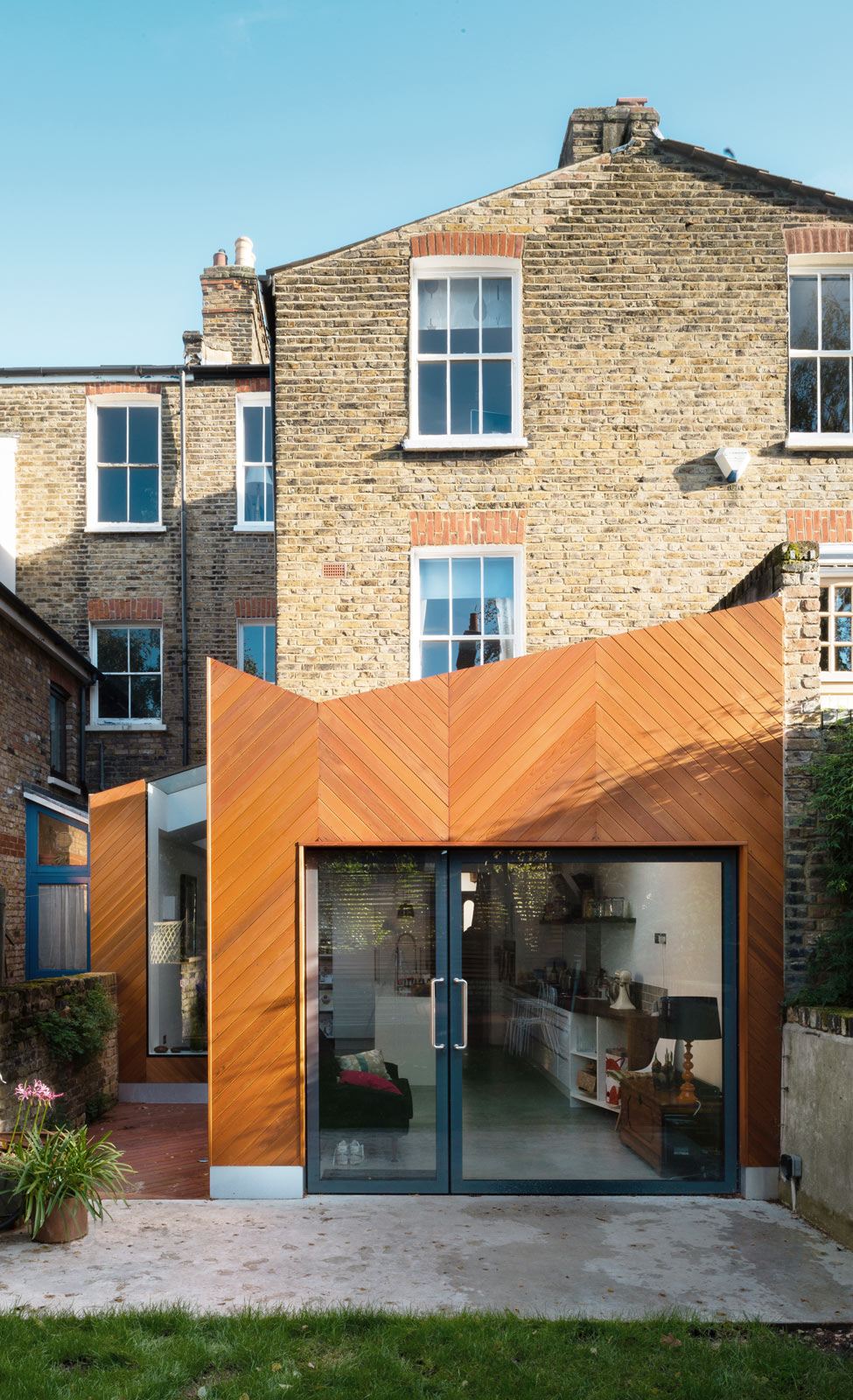 Lambeth house extension architecture for london for Extension architecte