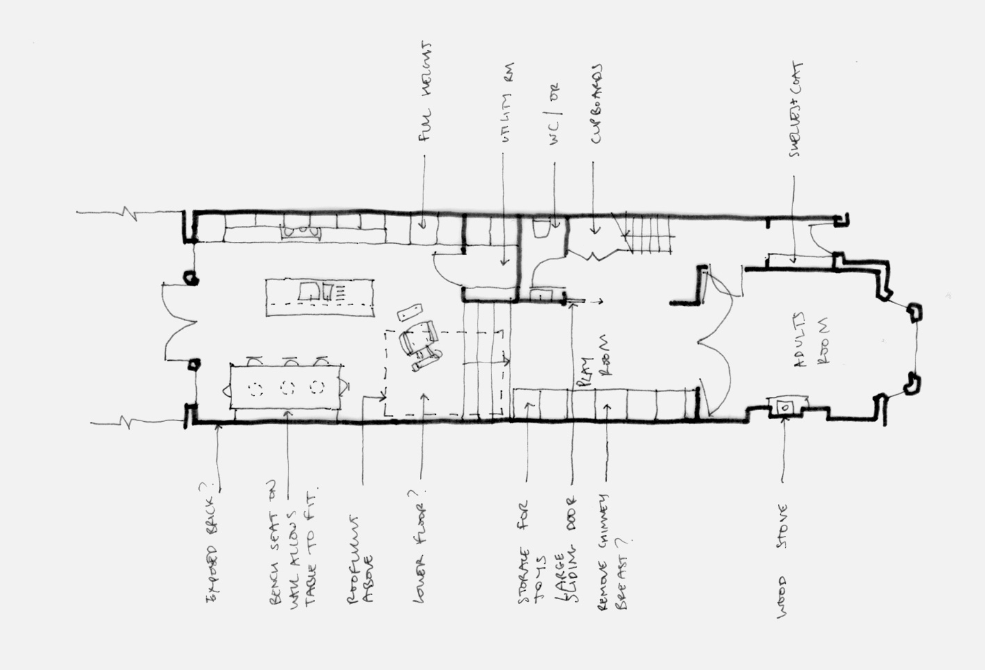 Richmond house extension architect plan