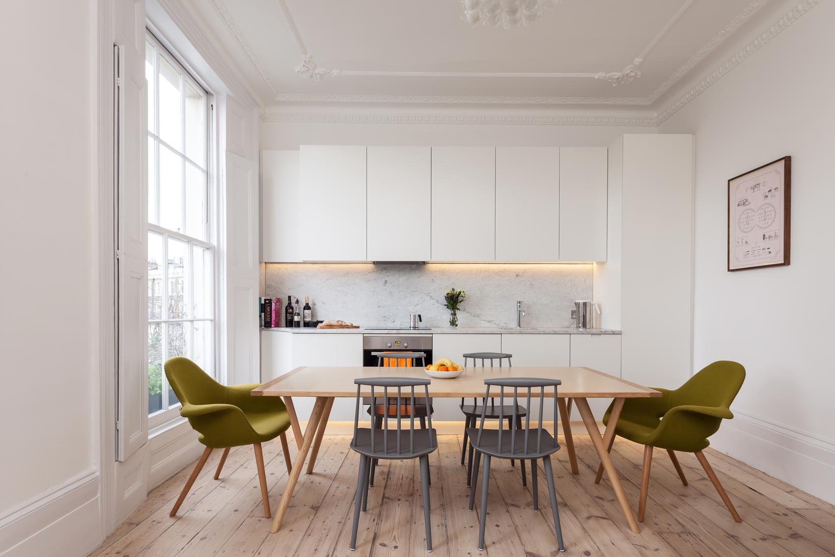 Islington architects - refurbishment of georgian listed flat