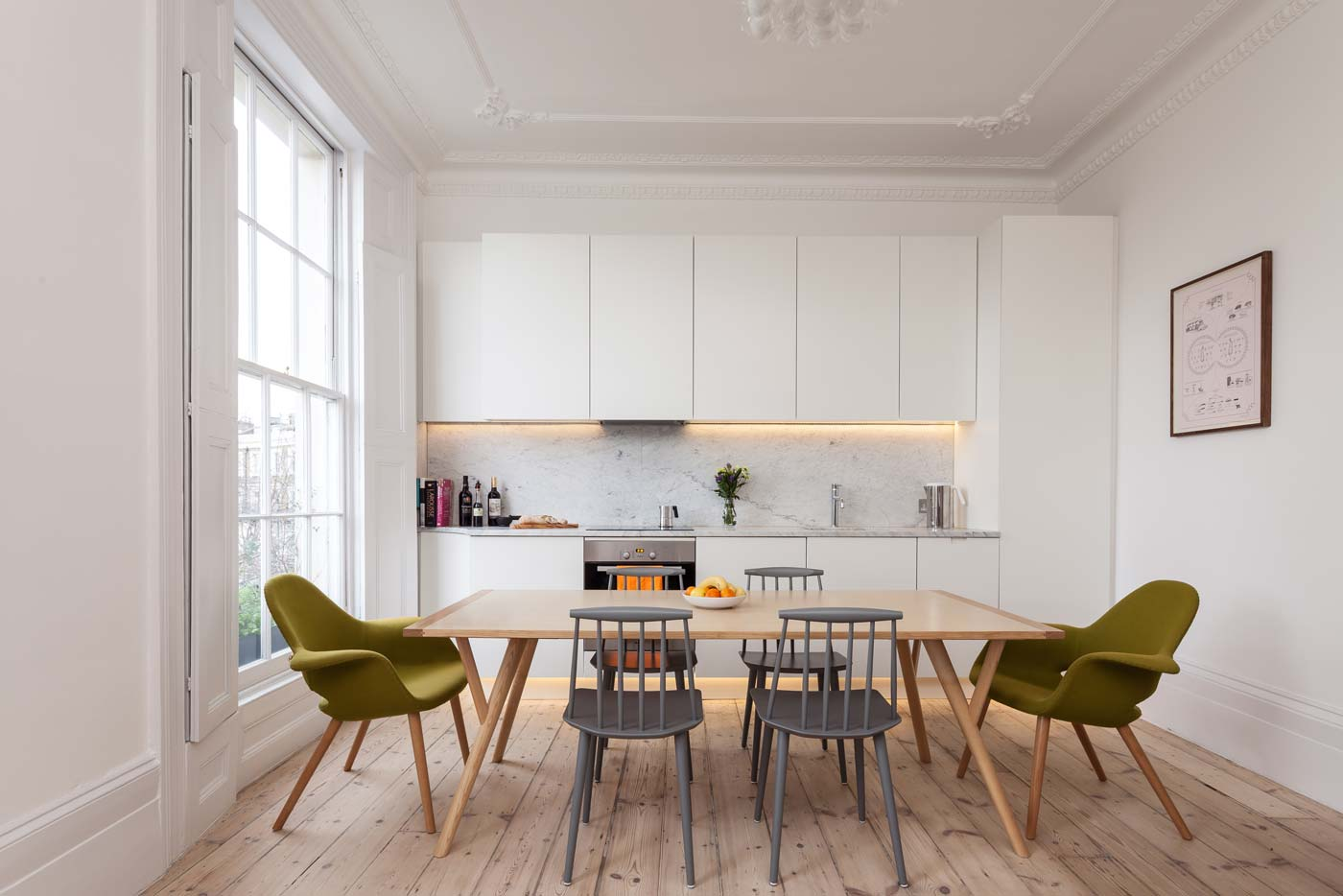Islington architects - refurbishment of georgian listed flat