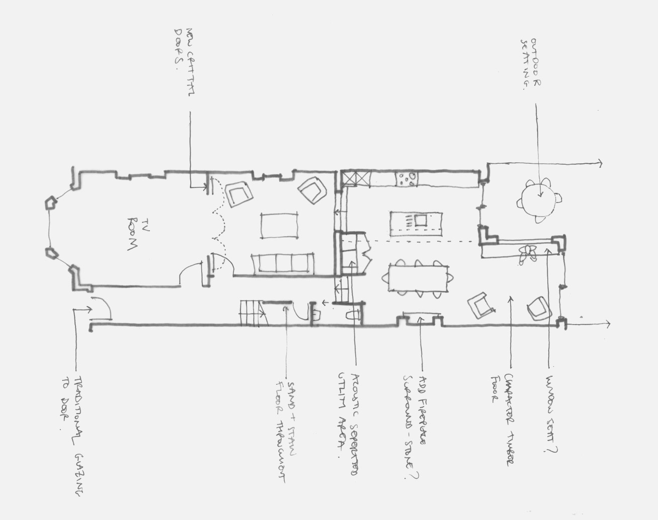 Stroud Green architect house extension