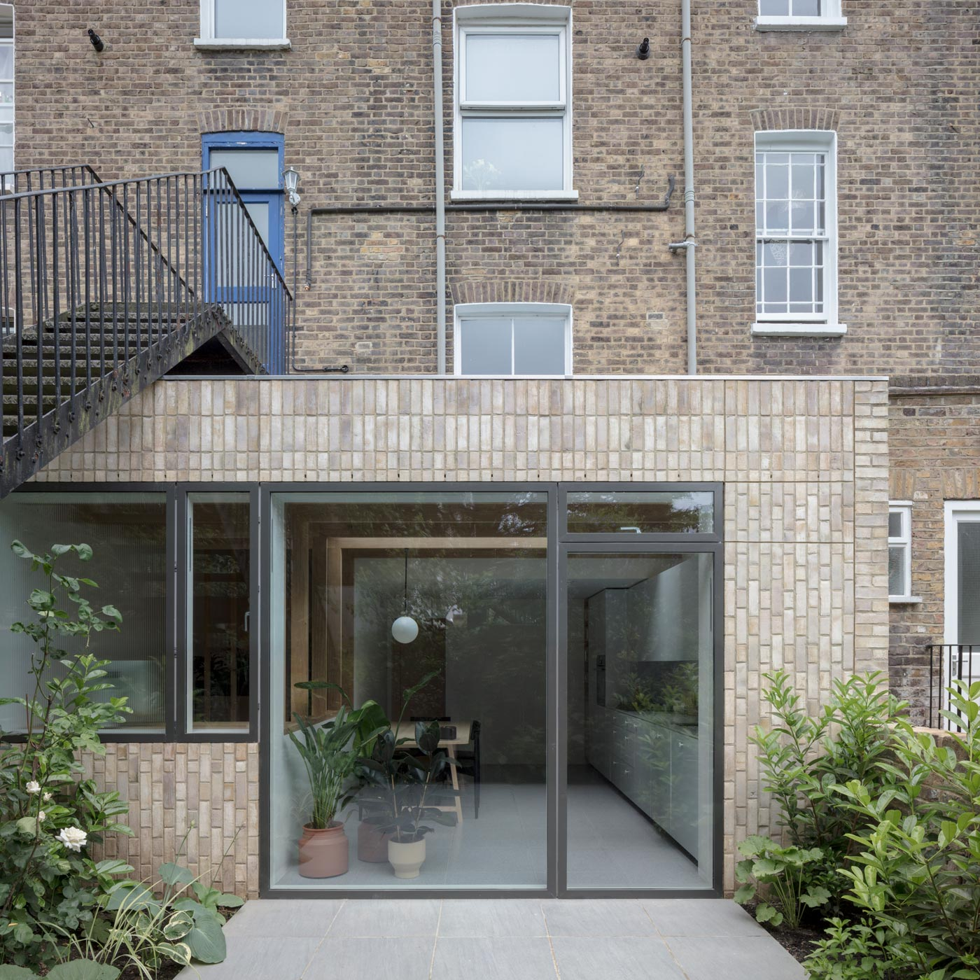 Architect designed house extension in Islington