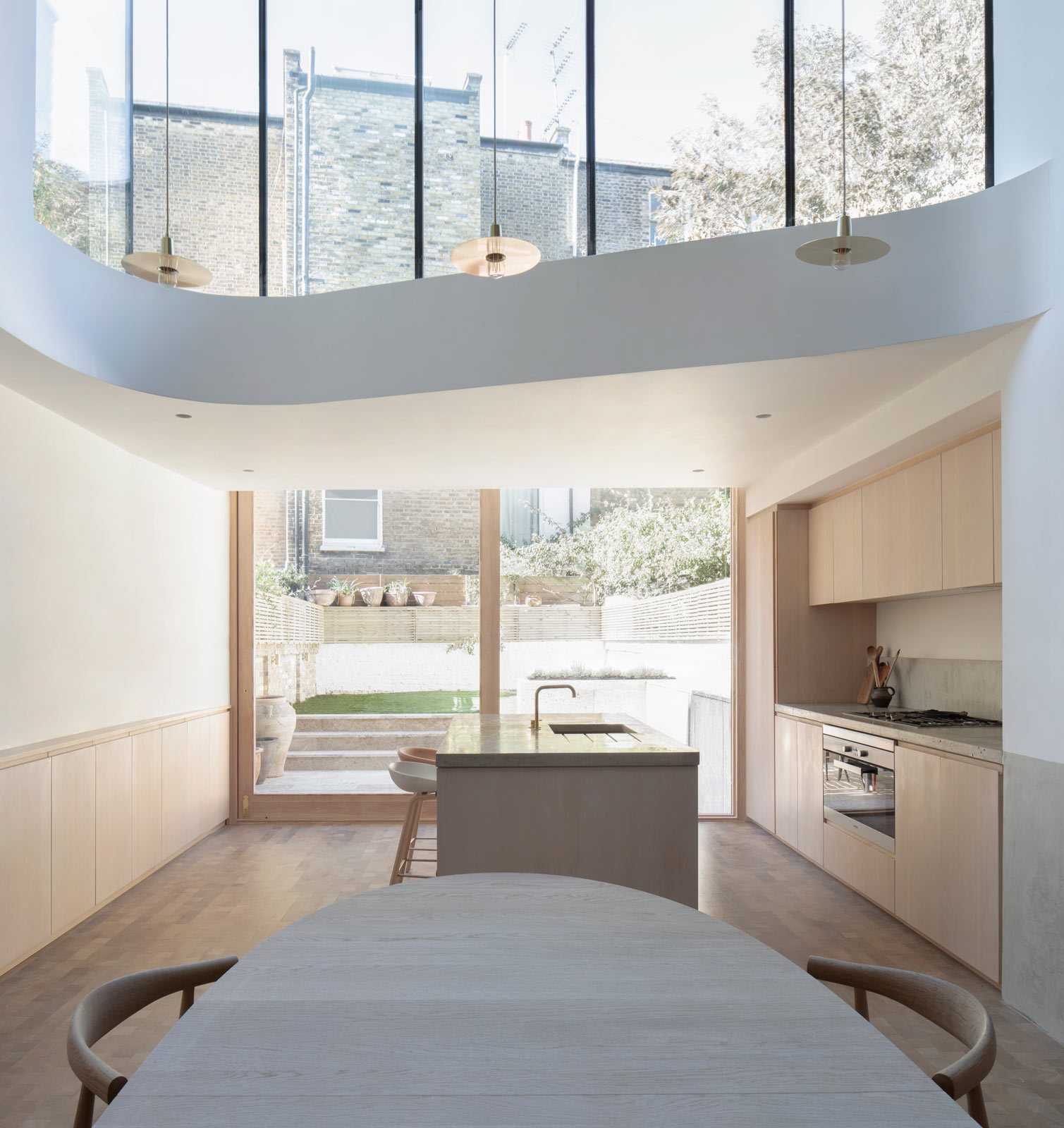 Brook Green house extension architect