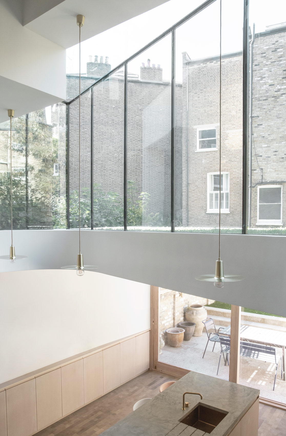 London house extension ideas glass