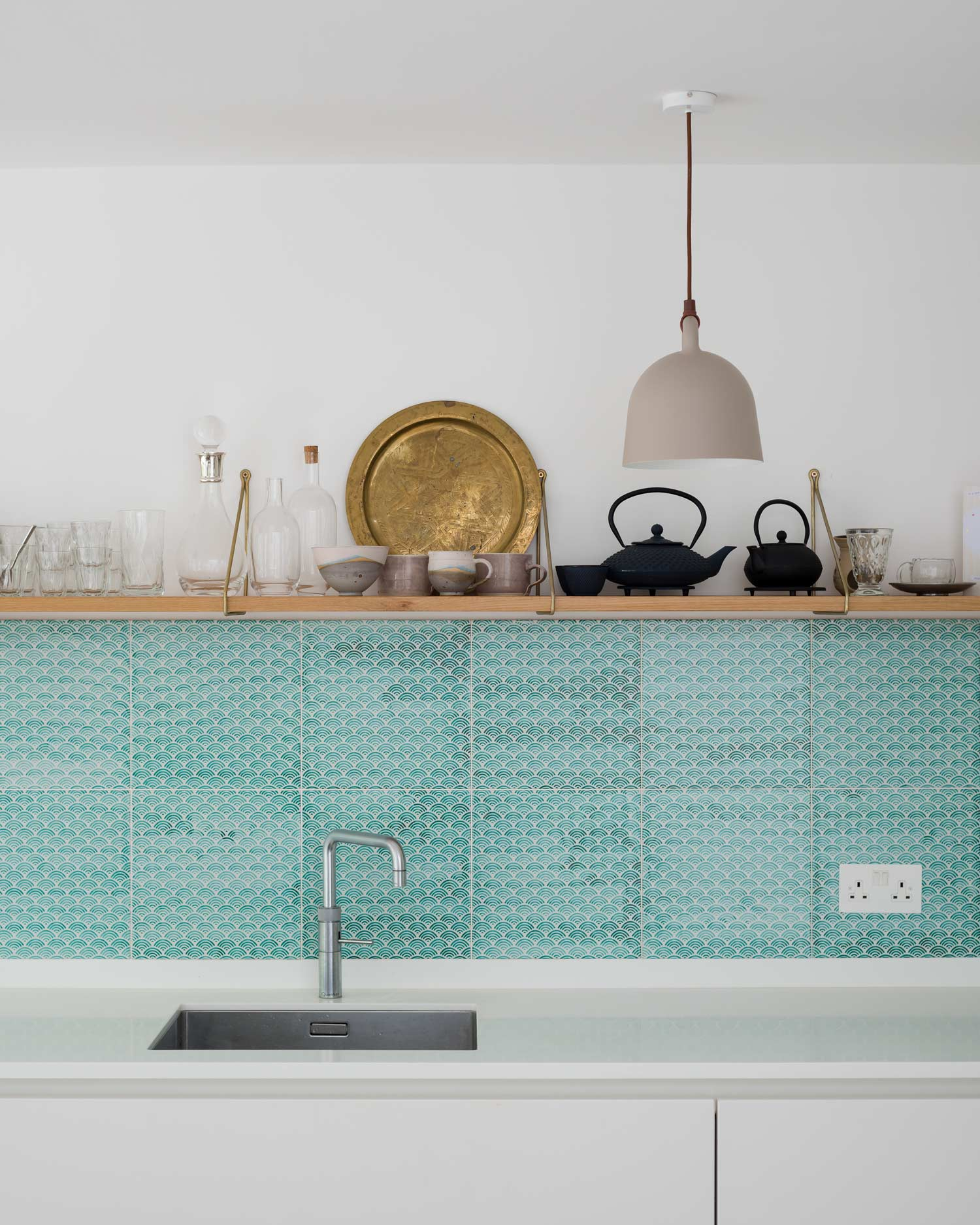 kitchen extensions in london: plywood kitchen