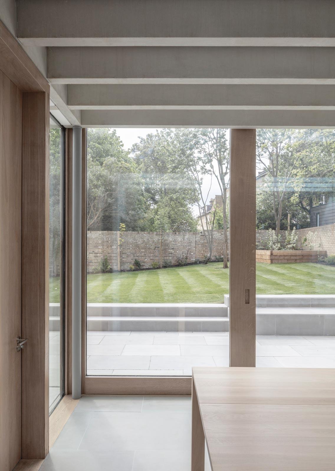London house extension modern design