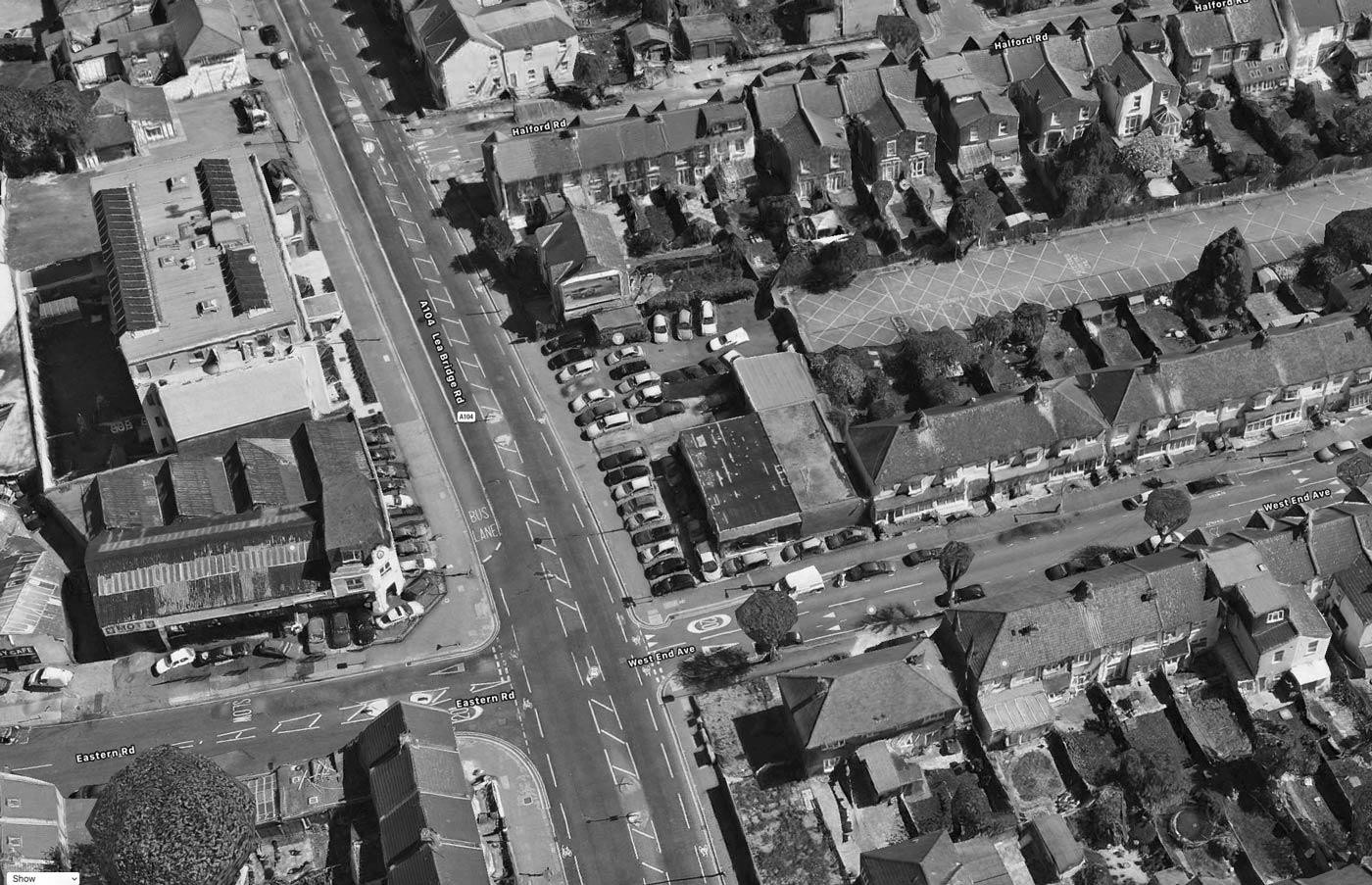 site aerial photo