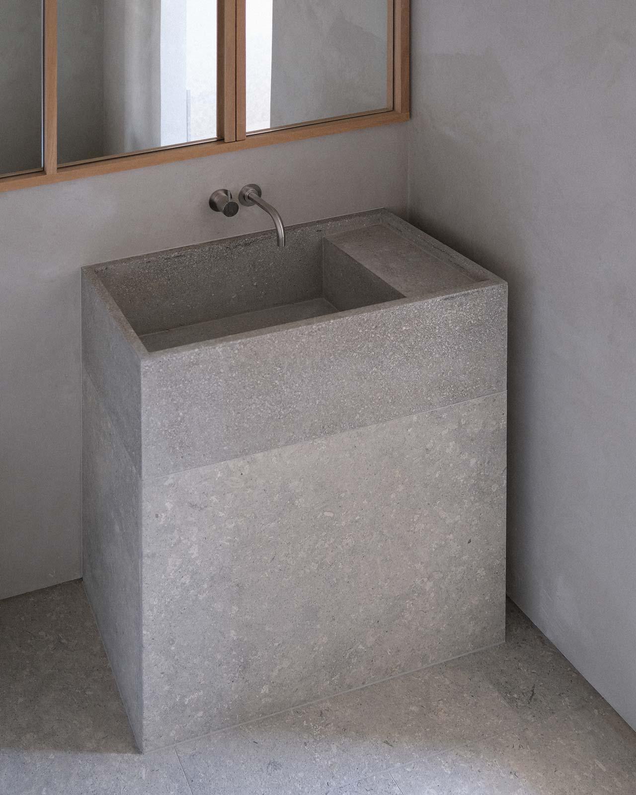 Architect stone bathroom ideas