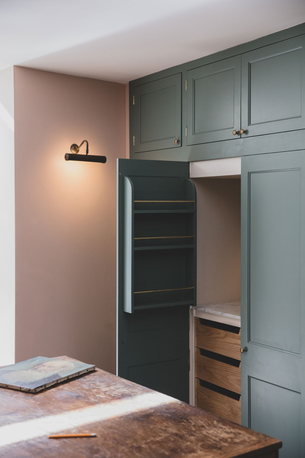 Bespoke kitchen shaker marble