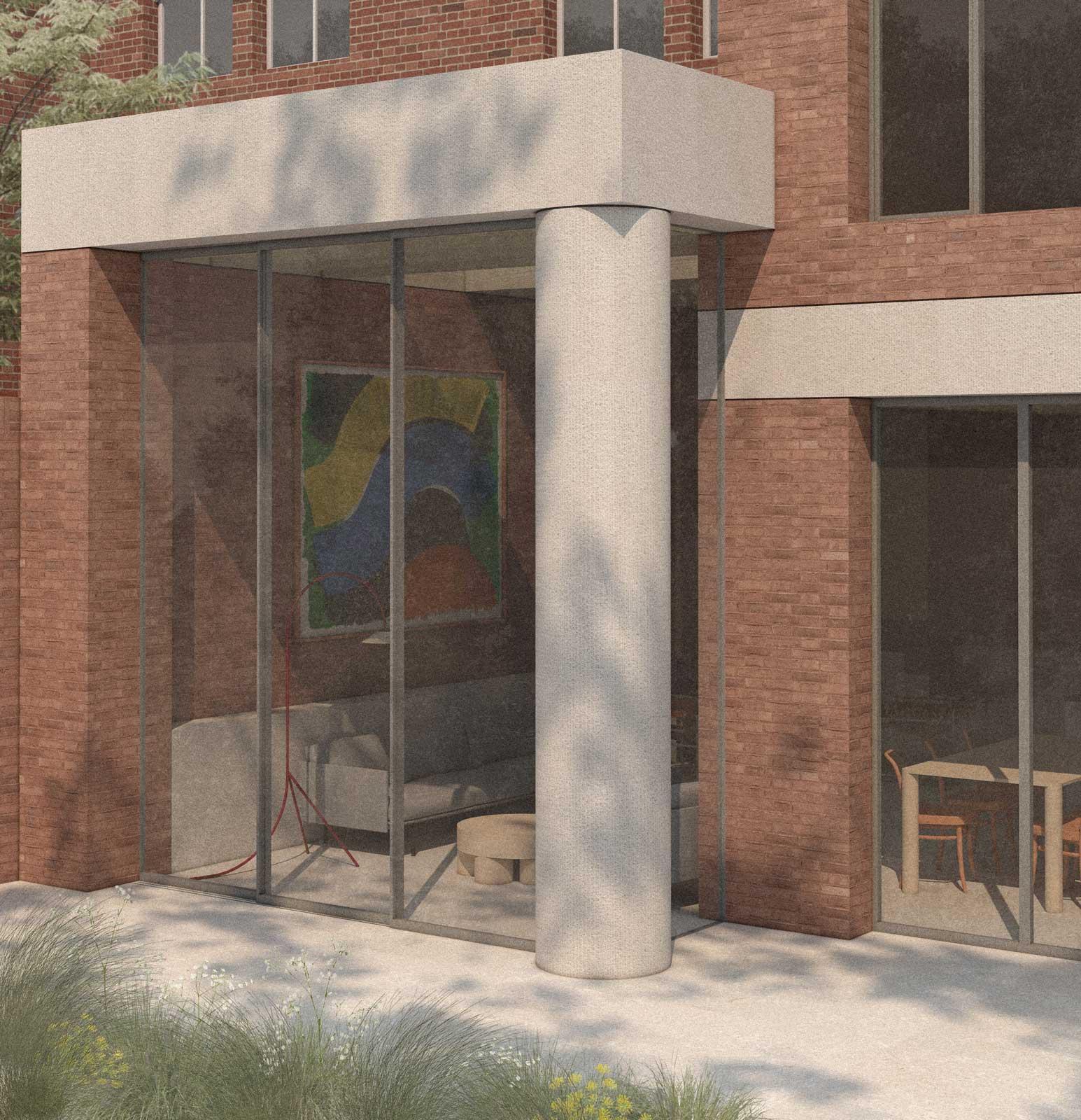 Highgate architect house extension brick