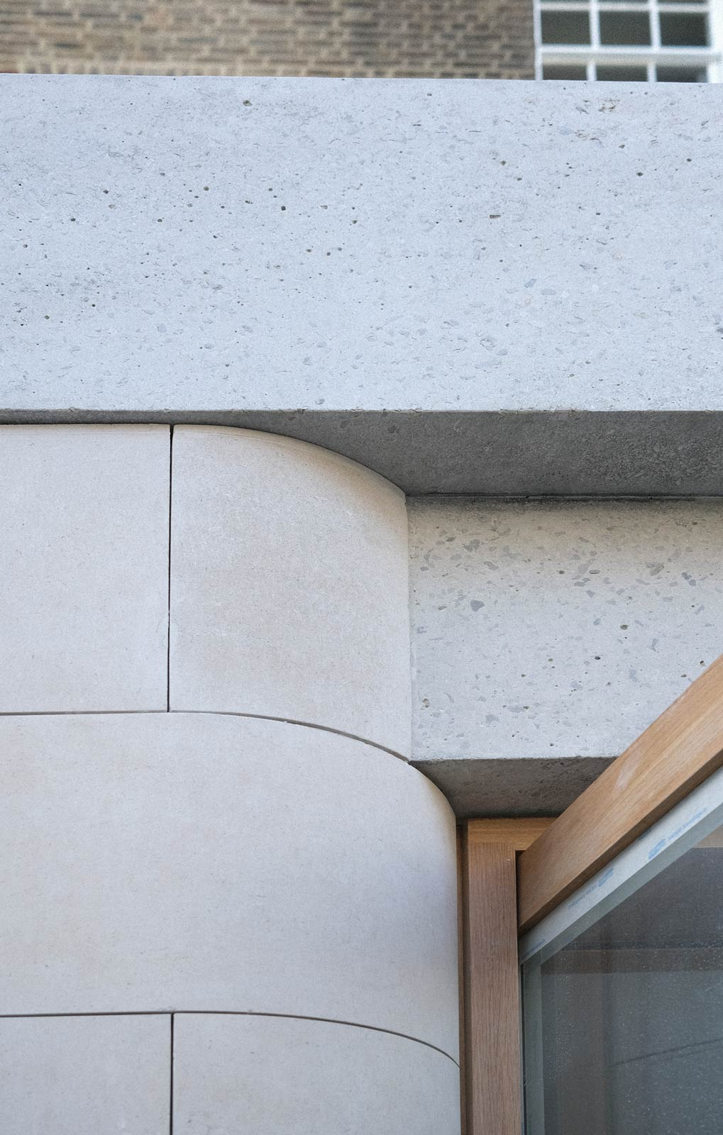architect house extension in concrete