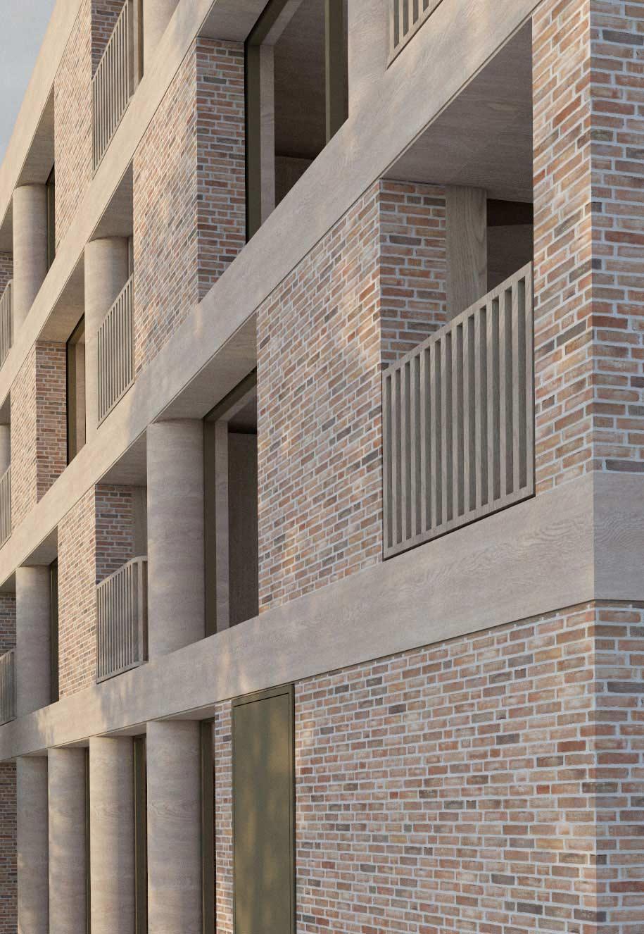 architect housing london brick