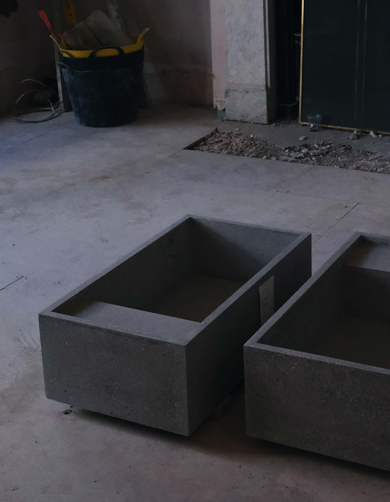 concrete basin london